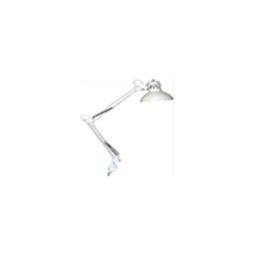 lampara de escritorio articulada negra con pinza