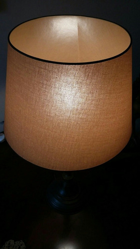 lámpara de escritorio clásica de bronce