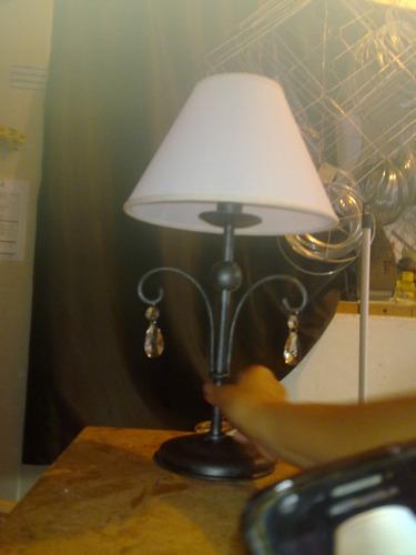 lampara de escritorio hierroforjado,fabrica,colgantes,arañas