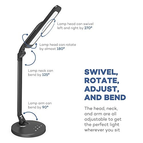 lámpara de escritorio, lámpara de escritorio de taotronics