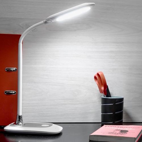 lampara de escritorio led velador regulable touch