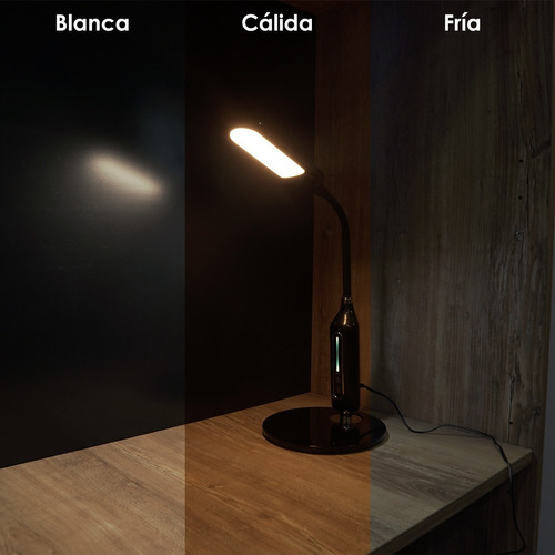 lampara de escritorio led velador touch regulable