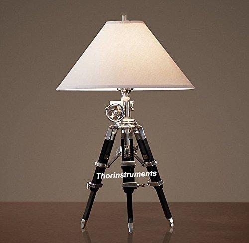lámpara de escritorio náutica royal designer chrome soporte