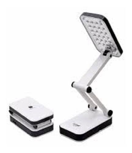 lampara de escritorio plegable  recargable 24 leds