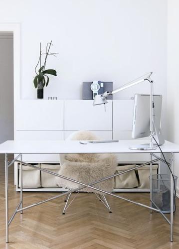 lámpara de escritorio velador moderna led 7w tolomeo de mesa