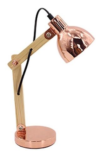 lámpara de escritorio velador moderna nordica e14 fiona deco