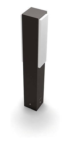 lampara de exterior philips stratosphere pedestal 2x4.5w