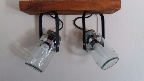lampara de frascos direccional