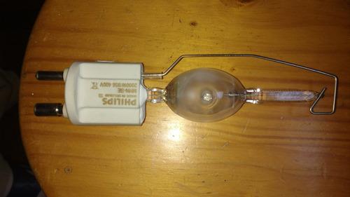 lámpara de halogenuro mhn-se ho 2000w/956 400v/ base gx22 ph