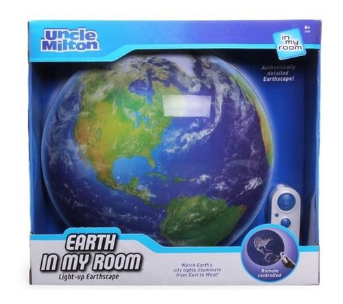 lampara de la tierra earth room led 3d uncle milton original