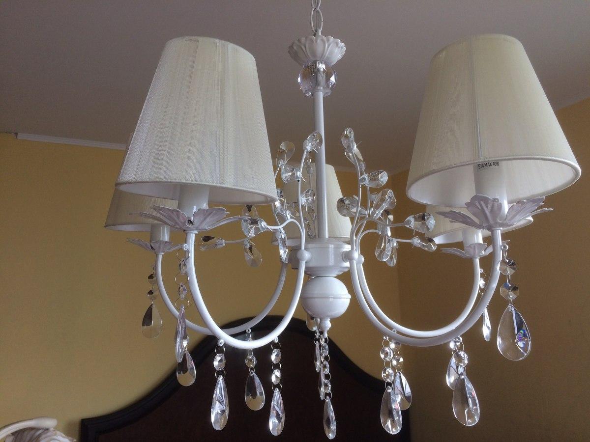 Lampara de lagrimas chandelier 5 luces 38990 en mercado libre cargando zoom aloadofball Choice Image