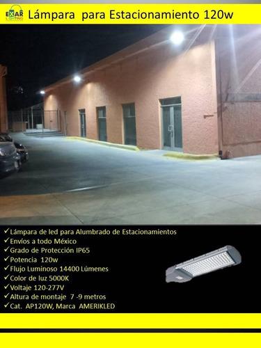 lampara de led 120w para estacionamiento