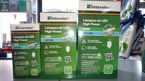 lámpara de led high power alta potencia 20w 157 00 en mercado