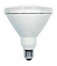 lampara de led par 38 e27 x 17w idoler ip65 v3