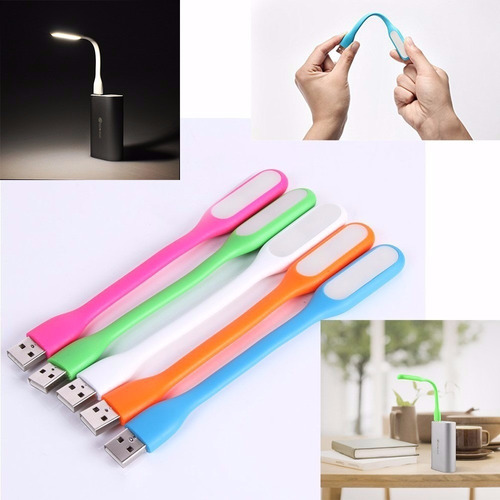 lampara de luz led usb flexible