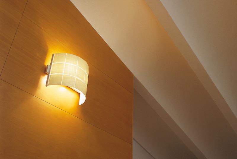 lampara de madera aplique de pared diseo original