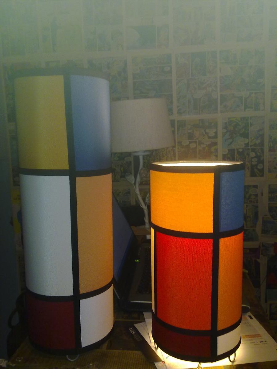 Lampara De Mesa Artesanal Fabrica De Pantallas Iluminacion