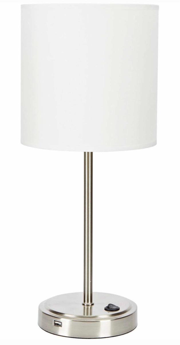 Lamp Mesa De Lámpara With Con Cargador Usb Usb Port VpSGqUzM