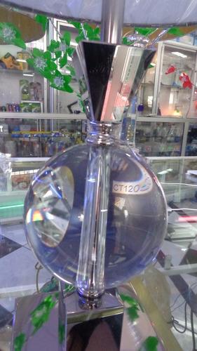 lámpara de mesa cristal 100% puro, sala, dormitorio,oficina