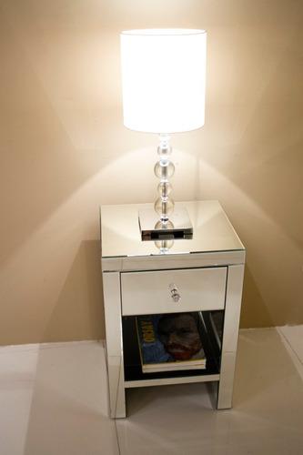 lampara de mesa cristal