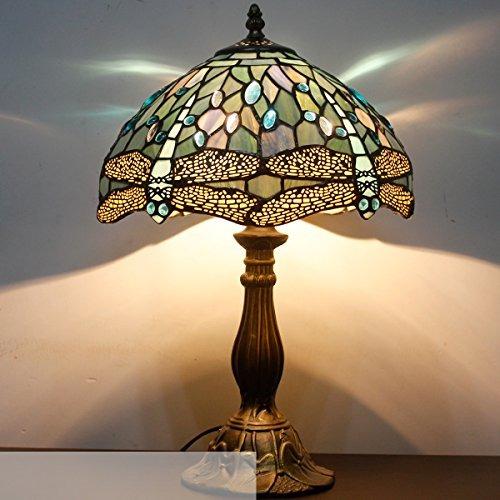 De Estilo Lampara De 18 De Mesa Pulgadas Serie Tiffany S147 CdrexBo