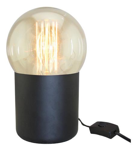 lámpara de mesa deli e27 con lámpara g125 filamento cuotas