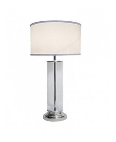 De Minimalista Diseño Mesa Cristal Transparente Lámpara WE9YDHI2