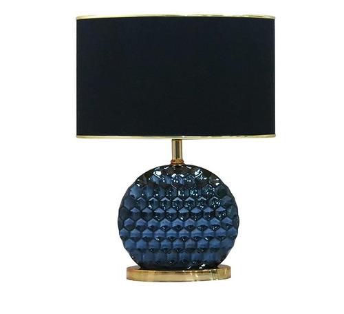 Lampara de mesa estilo clasico cristal metal cl 3 444 for Lamparas de mesa clasicas