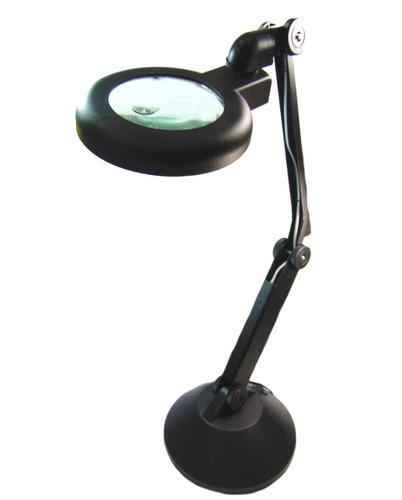 lampara de mesa flexible para tecnico con lupa flexible neon