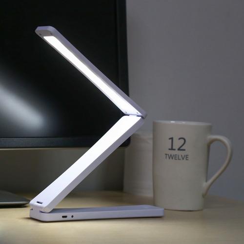 lámpara de mesa led protectora de ojos plegable con 17 leds