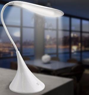 lámpara de mesa led recargable luz de escritorio flexible