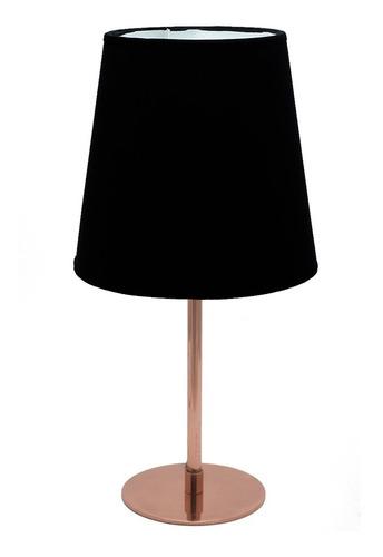 lampara de mesa liv en cobre o platil