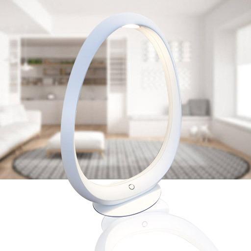 Lámpara De Mesa Minimalista Recargable Led 2w Touch Egg Lamp