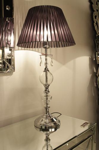 lampara de mesa platil  sarah