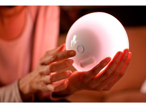 lampara de mesa portatil led philips hue go domotica
