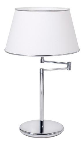 lampara de mesa ulma apto led arpillera pantalla diseño