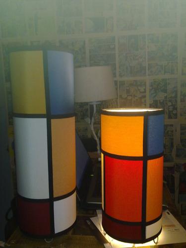 lampara de mesa,fabrica de pantallas artesanal,novedad !!!