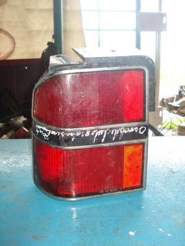 lampara de oldsmobile cutlas 1986