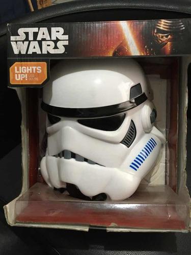 lámpara de pared 3d. star wars stormtrooper.