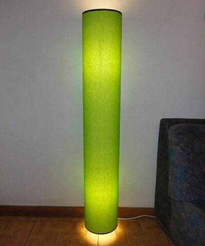 Lampara de pie 2 luces fabrica pantallas artesanales oferta en mercado libre - Como hacer lamparas de pie ...