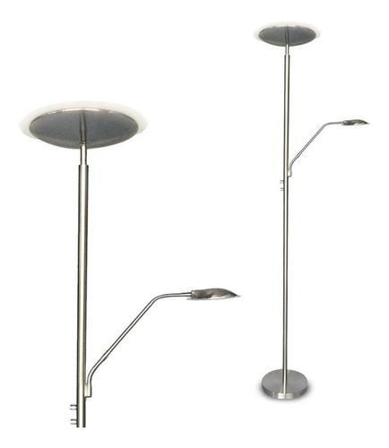 lampara de pie agata platil difusora y lectora led 18w+6w