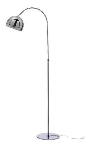 lampara de pie arco cromo extensible s