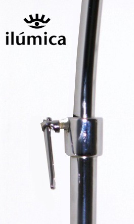 lampara de pie arco curva extralarge