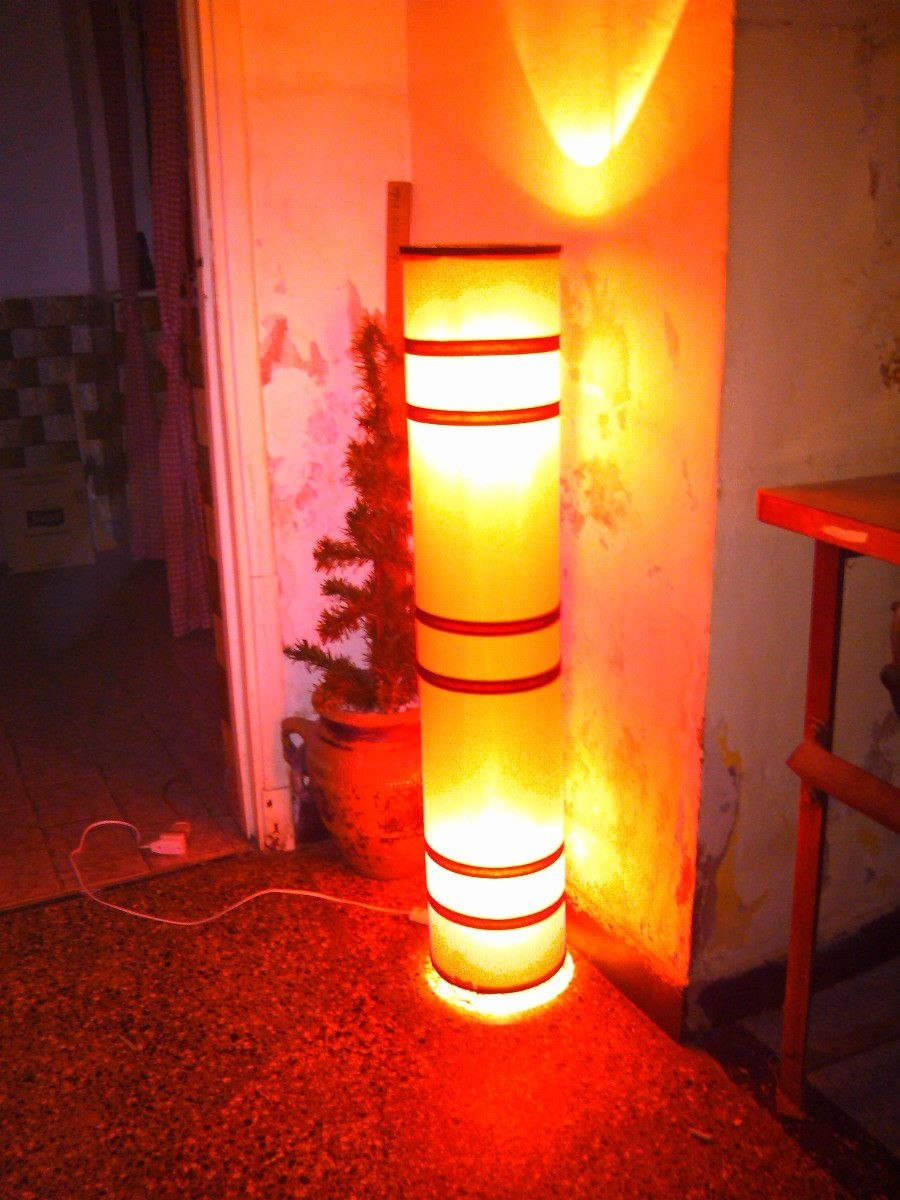 Lampara de pie artesanal fabrica de pantallas iluminacion - Iluminacion de pie ...