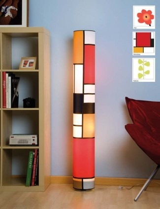 lampara de pie artesanal,fabrica de pantallas,iluminacion