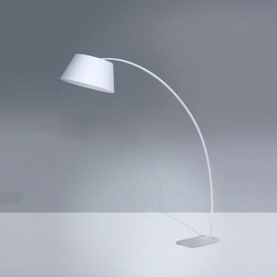 lampara de pie base de mármol