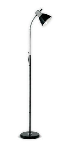 lampara de pie bri flexible negro rosca e27 led