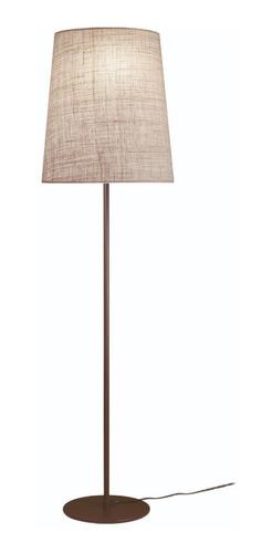 lampara de pie chocolate