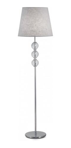 lampara de pie combinada con vidrio