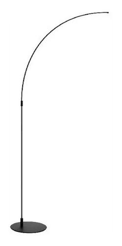 lampara de pie diseño deco lygis led integrado 12w calido
